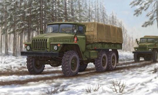 Trumpeter - Russian URAL-4320 Truck