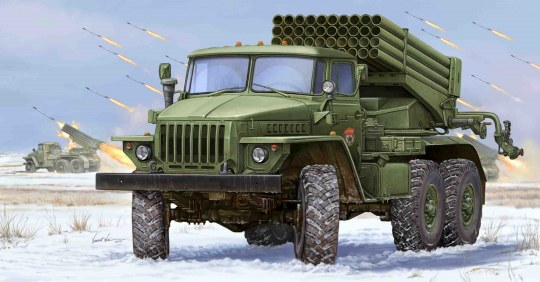 Trumpeter - Russian BM-21 Hail MRL-Early