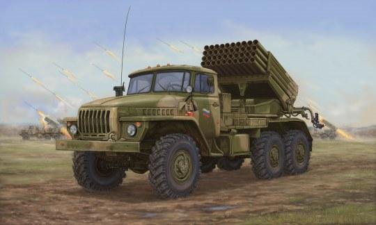 Trumpeter - Russian BM-21 Hail MRL-Late