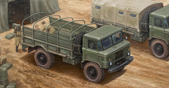 Trumpeter - Russian GAZ-66 Light Truck I