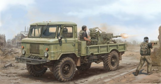 Trumpeter - Russian GAZ-66 Light Truck II