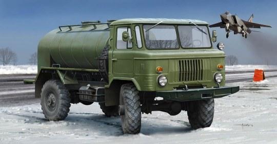 Trumpeter - Russian GAZ-66 Oil Truck
