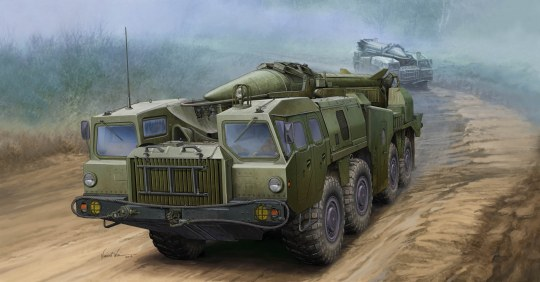 Trumpeter - Soviet SS-1D SCUD-C