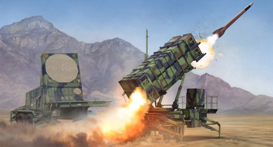 Trumpeter - M901 Launching Station &AN/MPQ-53 Radar Radar set of MIM-104 Patriot SAM System (PAC-2)