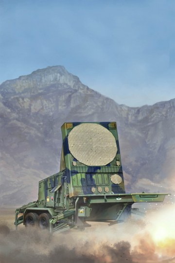 Trumpeter - MPQ-53 C-Band Tracking Radar