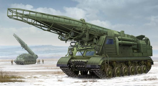 Trumpeter - Ex-Soviet 2P19 Launcher w/R-17 Missile
