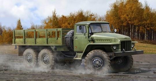Trumpeter - Russian URAL-375D