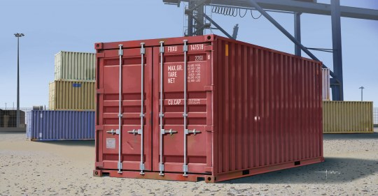 Trumpeter - 20ft Container