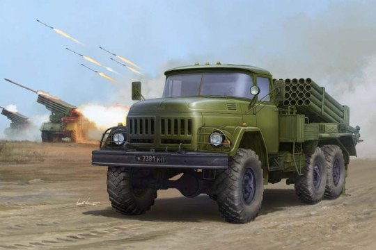 Trumpeter - Russian 9P138 Grad-1 on Zil-131