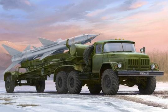 Trumpeter - Russian Zil-131V towed PR-11 SA-2 Gudeli
