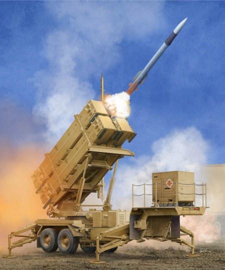 Trumpeter - US M901 Launching Station w/MIM-104F Patriot SAM System (PAC-3)