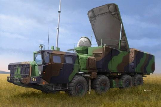 Trumpeter - Russian 30N6E Flaplid Radar System