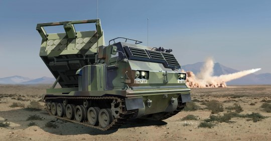Trumpeter - M270/A1 Multiple Launch Rocket System-US