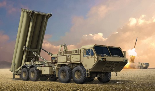 Trumpeter - Terminal High Altitude Area Defence (THAAD)
