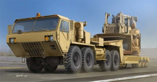 Trumpeter - M983A2 HEMTT Tractor with M870A1 Semi- Trailer