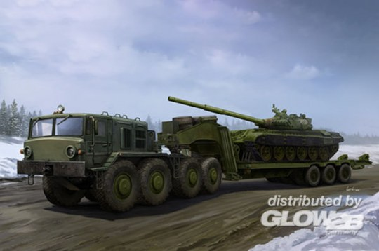 Trumpeter - MAZ-537G Late Production type with ChMZAP-9990 semi-trailer