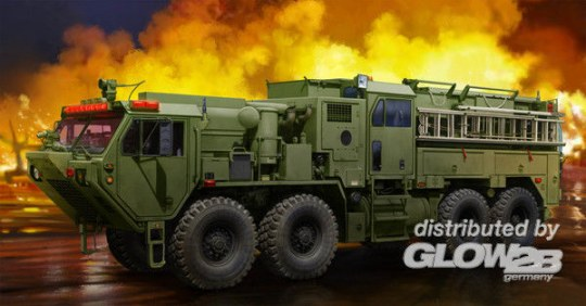 Trumpeter - M1142 HEMTT Tactical Fire Fighting Truck
