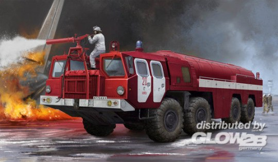 Trumpeter -Airport Fire Fighting Vehicle AA-60 (MAZ-7310) 160.01