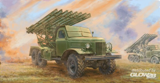Trumpeter - Soviet 2B7 Multiple Rocket Launcher BM-13 NM