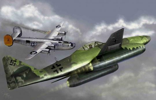Trumpeter - Messerschmitt Me 262 A-1a