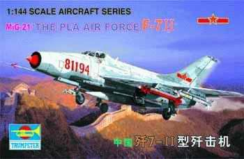 Trumpeter - MiG-21 J-711 China (The Pla Airforce)