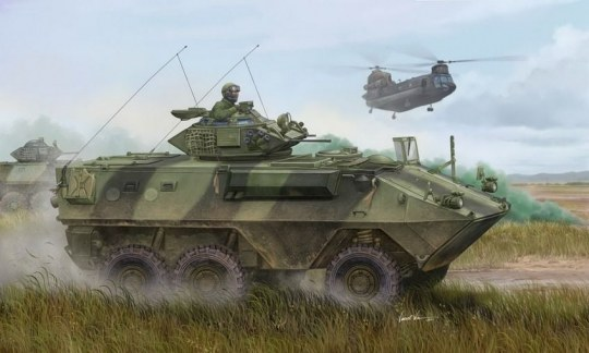 Trumpeter - Canadian Grizzly 6x6 APC