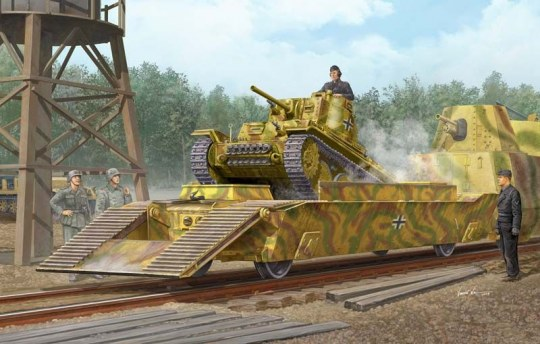 Trumpeter - Panzertragerwagen