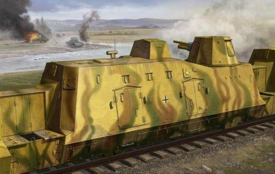 Trumpeter - Geschützwagen (Cannon Car)