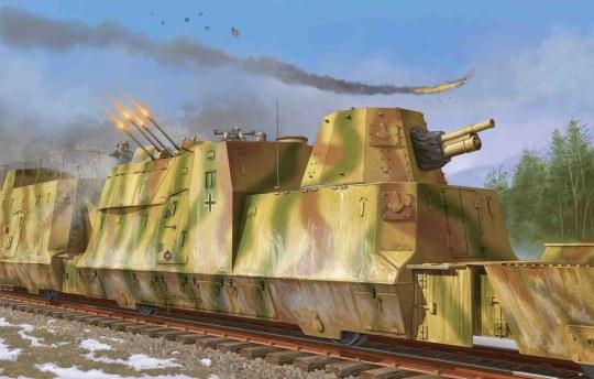 Trumpeter - Kanonen und Flakwagen