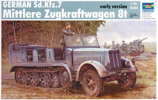 Trumpeter - Sd.Kfz. 7 Mittlerer Zugkraftwagen 8t