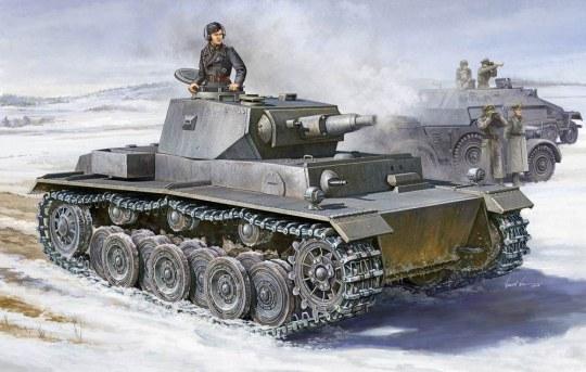 Trumpeter - German VK 3001 (H) PzKpfw VI (Ausf. A)
