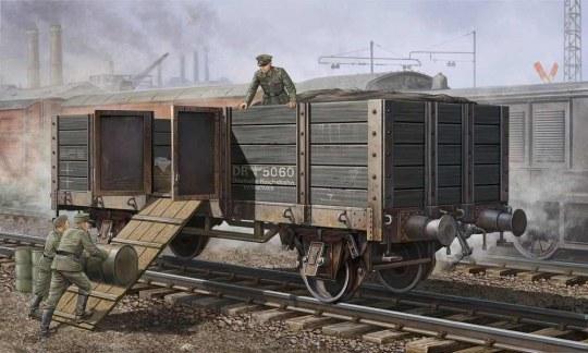 Trumpeter - German Railway Gondola
