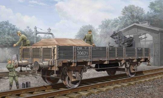 Trumpeter - German Railway Gondola (Lower sides)