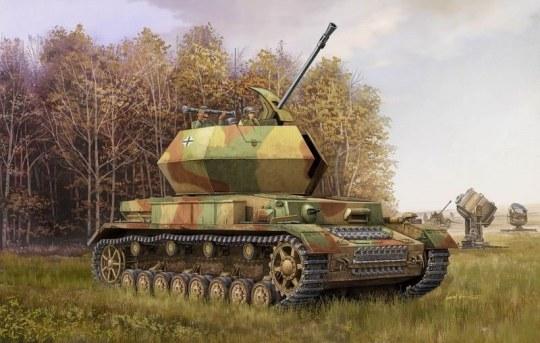 Trumpeter - German 3.7cm Flak 43 Flakpanzer IV ''Ostwind''