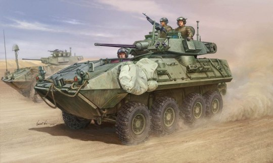 Trumpeter - LAV-A2 8x8 wheeled armoured vehicle