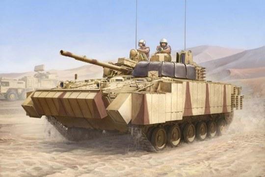 Trumpeter - BMP-3(UAE) w/ERA titles a.combined scree