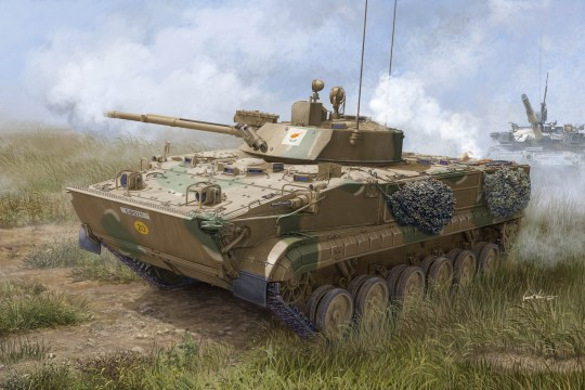 Trumpeter - BMP-3 in Greek service
