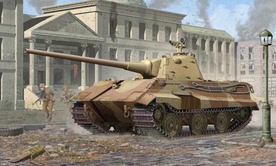 Trumpeter - German E-50 (50-75 tons)/Standardpanzer