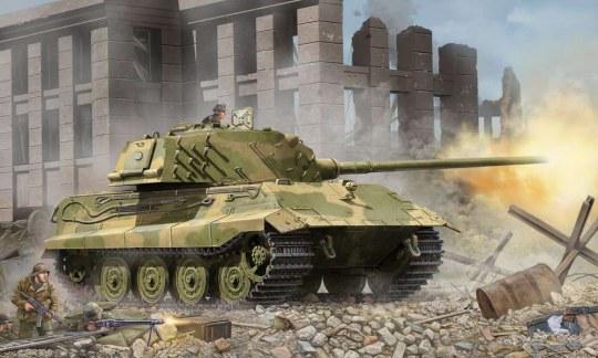 Trumpeter - German E-75 (75-100 tons)/Standardpanzer