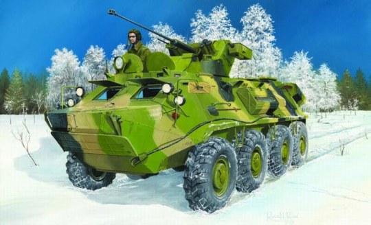 Trumpeter - BTR-60PB Upgraded