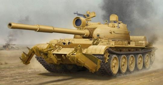 Trumpeter - T-62 Mod.1960 (Iraq modification)