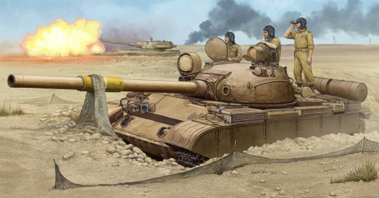 Trumpeter - T-62 Mod.1962 (Iraqi Regular Army)