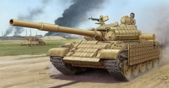 Trumpeter - T-62 ERA Mod.1972 (Iraqi Regular Army)