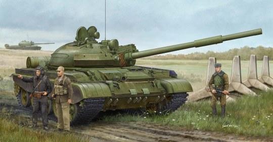 Trumpeter - Russian T-62 BDD Mod.1984 (Mod.1962modif modification)