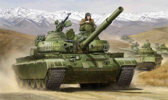 Trumpeter - Russian T-62 BDD Mod. 1984