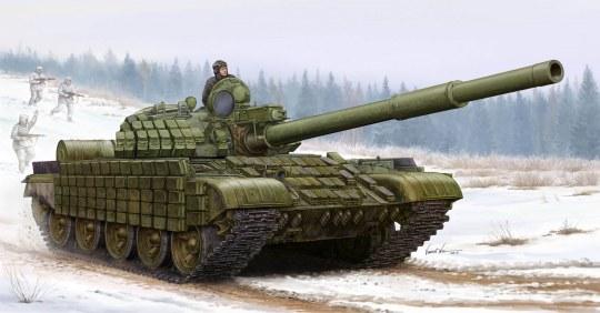Trumpeter - Russian T-62 ERA (Mod.1962)