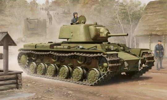 Trumpeter - KV-1M 1939