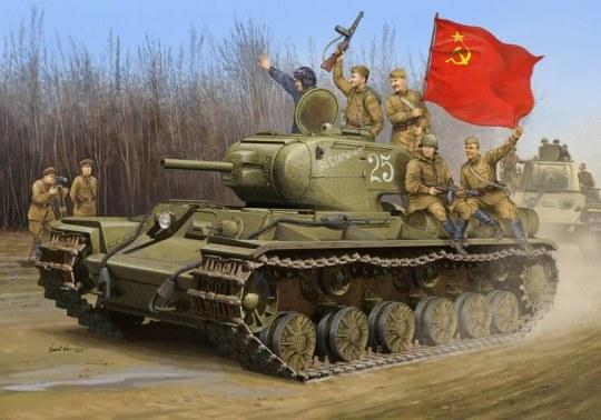 Trumpeter - Soviet KV-1S Heavy Tank