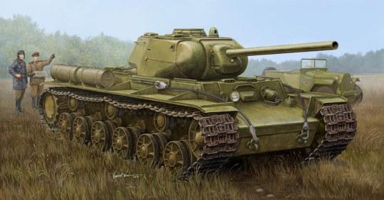 Trumpeter - Soviet KV-1S/85 Heavy Tank