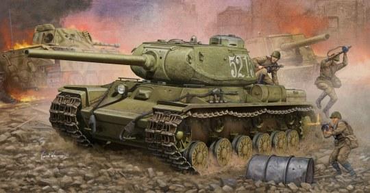 Trumpeter - Soviet KV-85 Heavy Tank